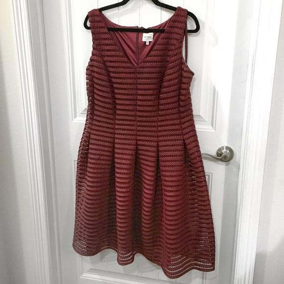 2d030146b13 Ashley Graham Dresses   Skirts - LIKE NEW Burgundy dress.